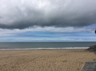 sea and sky, Penbryn beach