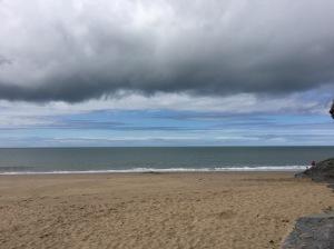 sea and sky, Penbryn beach